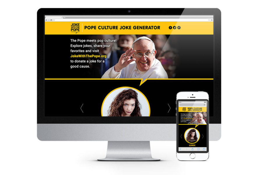 Joke with The Pope Website